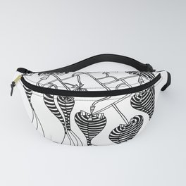 Stanley Abstract Fanny Pack