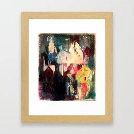 The Neighbors Framed Art Print