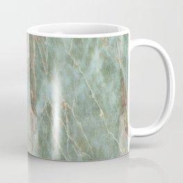 Sage and Rust Marble Coffee Mug