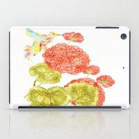 hummingbird iPad Cases featuring Hummingbird by Thesecretcolors