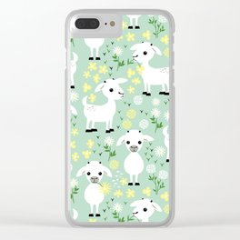 Baby goats Clear iPhone Case
