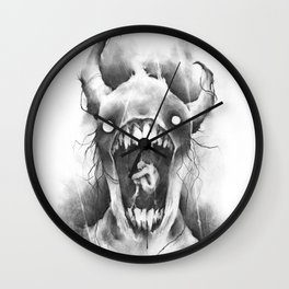 The Demons Within Wall Clock