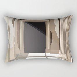 Neues Museum, Berlin Rectangular Pillow