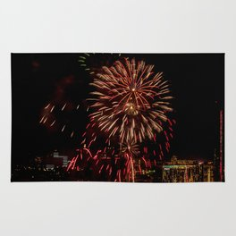 Firework collection 6 Rug
