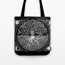 Druid Tree of Life Tote Bag