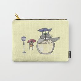 Toto ro Satsuki and Mei Bus stop scene Carry-All Pouch