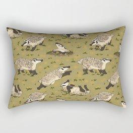 American Badgers Rectangular Pillow