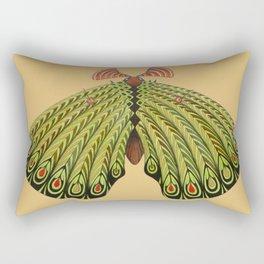 green moth (ORIGINAL SOLD). Rectangular Pillow
