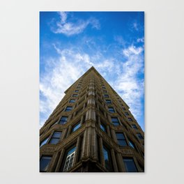 heads up Canvas Print