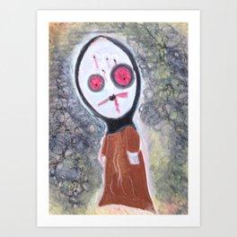You Looking @ Me? Art Print