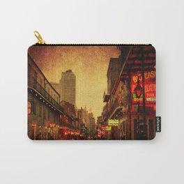 Bourbon Street Grunge Carry-All Pouch