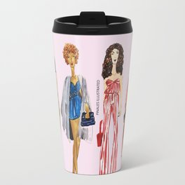 Fashion Drawing Series Pouch, Pinales Illustrated Travel Mug