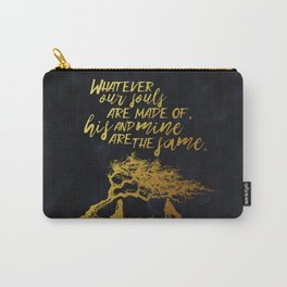 Wuthering Heights - Souls - Gold Foil Carry-All Pouch