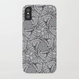 Aloof, a Cat Tessellation iPhone Case