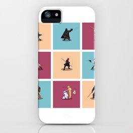 Frame Wars feat Boba fett... iPhone Case