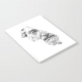 MARCUS AURELIUS ANTONINUS AUGUSTUS / black / white Notebook
