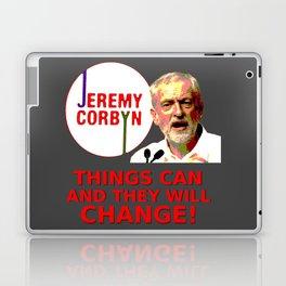 Jeremy Corbyn - Things Can Change (Labour) Laptop & iPad Skin