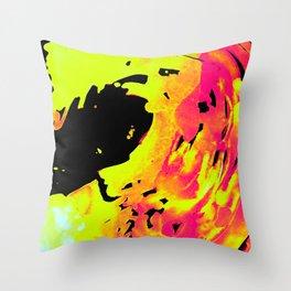 Solar Flare Wave Throw Pillow