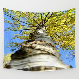 Running up the tree  Wall Tapestry