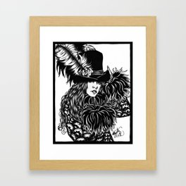 Mystery Framed Art Print