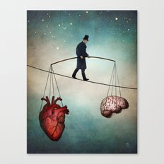 The Balance Canvas Print