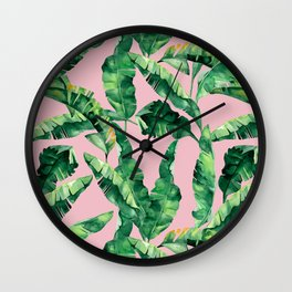 So Tropical Wall Clock