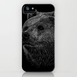 Bear Grizzly iPhone Case