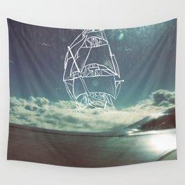 Sail the Skies Wall Tapestry