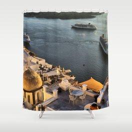 Santorini 20 Shower Curtain