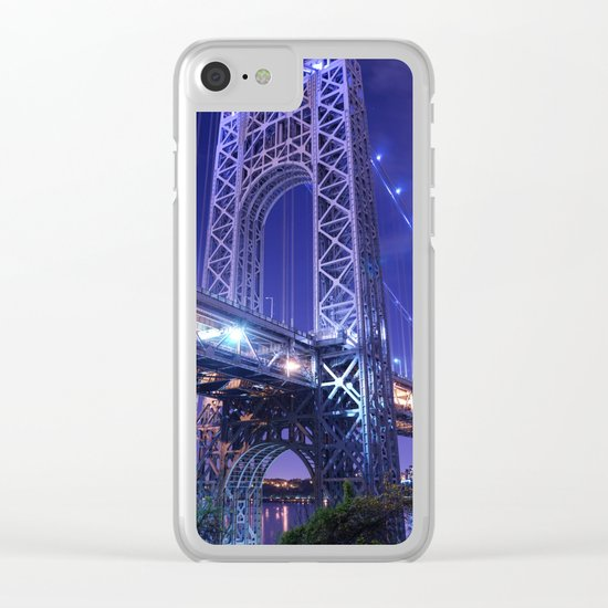 New York Clear iPhone Case