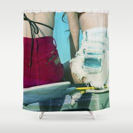 Bums Shower Curtain