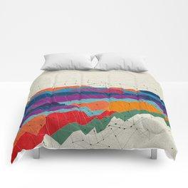 Landscape on Mars Comforters