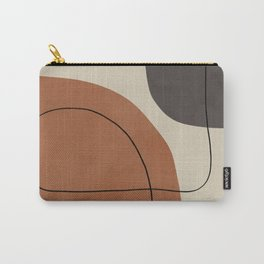 Modern Abstract Shapes #1 Carry-All Pouch