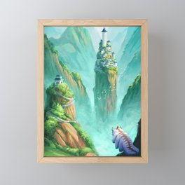 The Last Airbender  Framed Mini Art Print