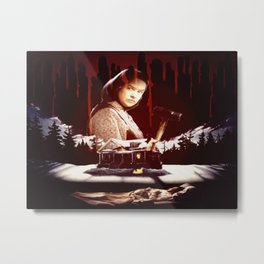 The Horror of Misery Metal Print