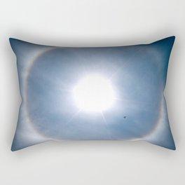 Rainbow Around the Sun Rectangular Pillow