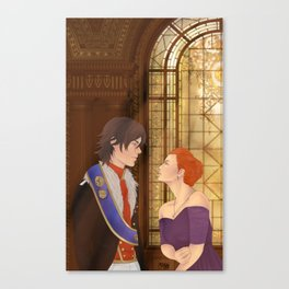 Trade the Heart for the Gold Canvas Print