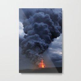 Kilauea Volcano at Kalapana 4 Metal Print