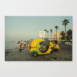 Coco Taxi's  Canvas Print