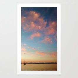 Clouded Thoughts Art Print