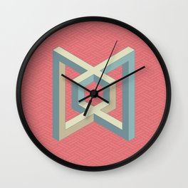 Geometric element number 3 Wall Clock