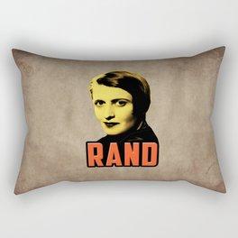 Ayn Rand Rectangular Pillow
