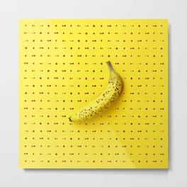 Bananagram Metal Print