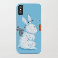 Bunny Rider iPhone X Slim Case