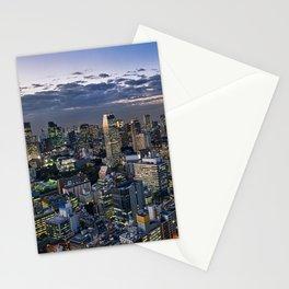 Tokyo Cityscape Stationery Cards