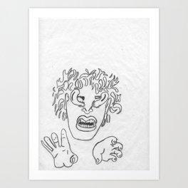 Seal-detail Art Print