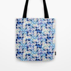 Bibbity Bobbity Blue (Abstract Painting) Tote Bag