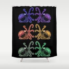 Octopus Festival Shower Curtain