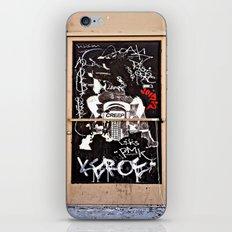 Grafitti Door - Creep iPhone & iPod Skin