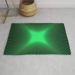 The Emerald Illusion Rug
